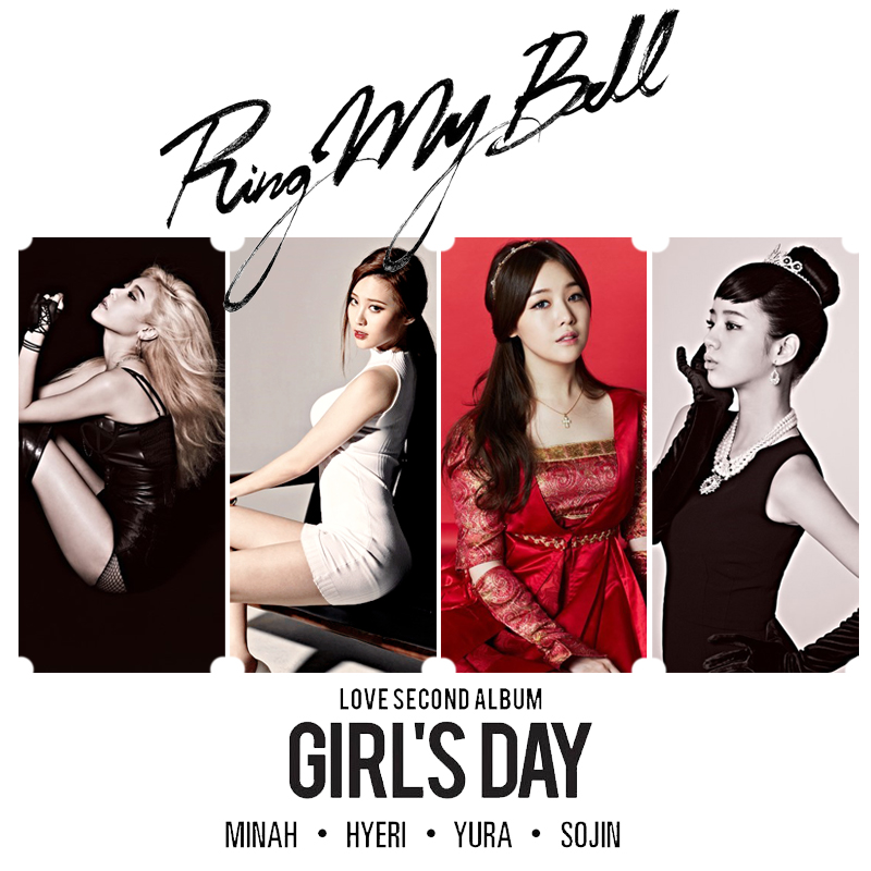 Sistar wallpaper 5 - Girl S Day Ring My Bell Fanmade Album Cover By