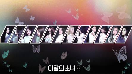 LOONA Butterfly Background Ver 2 by MissCatieVIPBekah