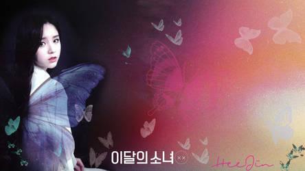 LOONA Butterfly Background HeeJin by MissCatieVIPBekah