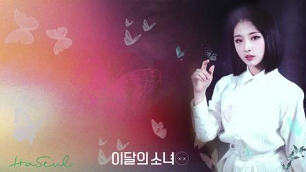 LOONA Butterfly Background HaSeul by MissCatieVIPBekah