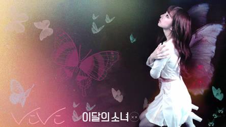 LOONA Butterfly Background ViVi by MissCatieVIPBekah