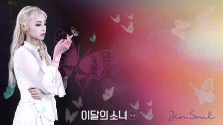 LOONA Butterfly Background JinSoul by MissCatieVIPBekah