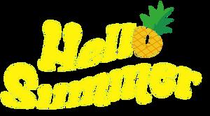April Hello Summer Logo