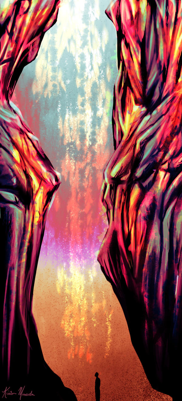Forsaken (In Colour) by NightsofNever