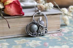 Silver heart by Schepotkina