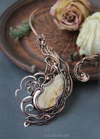 Aventurine necklace by Schepotkina