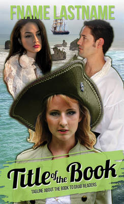 002113 Pirate Book Cover for Sale