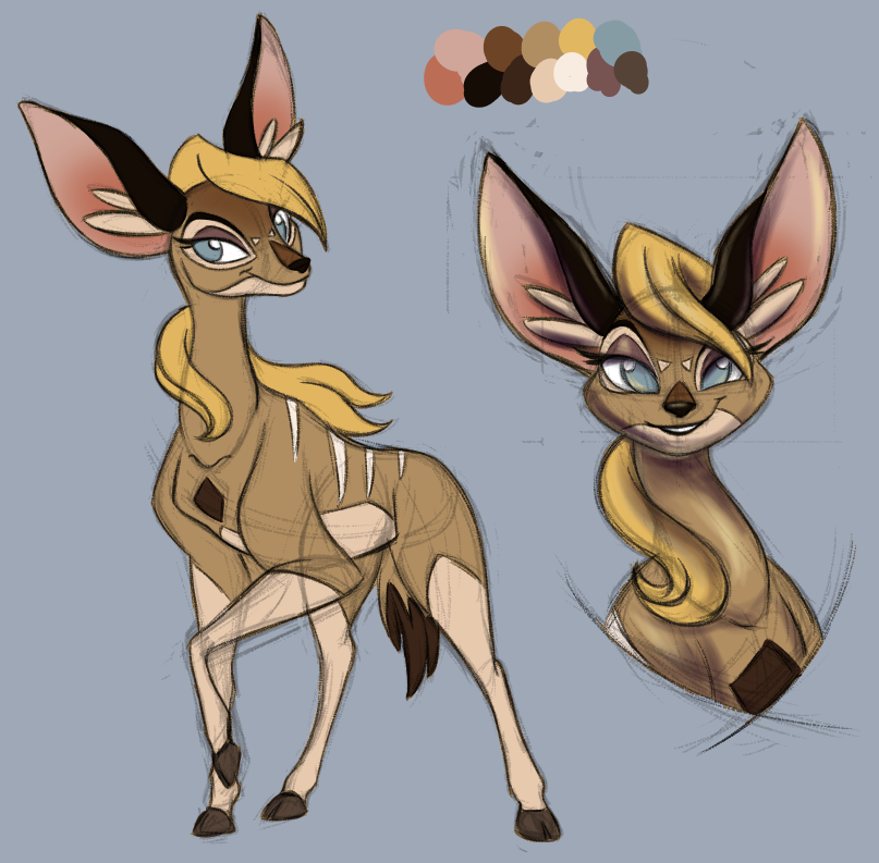 Female kudu design by Ari-AccountHasMoved