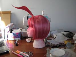 in progress Princess Tutu wig by SerenadeStrong