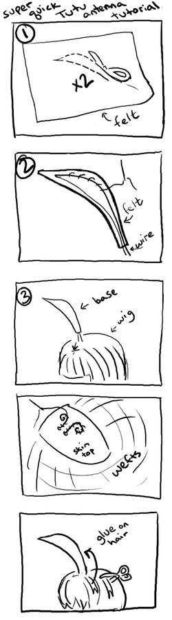 Princess Tutu antenna tutorial