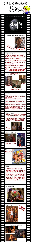 Screenshot meme - Buffy the Vampire Slayer by Commaki