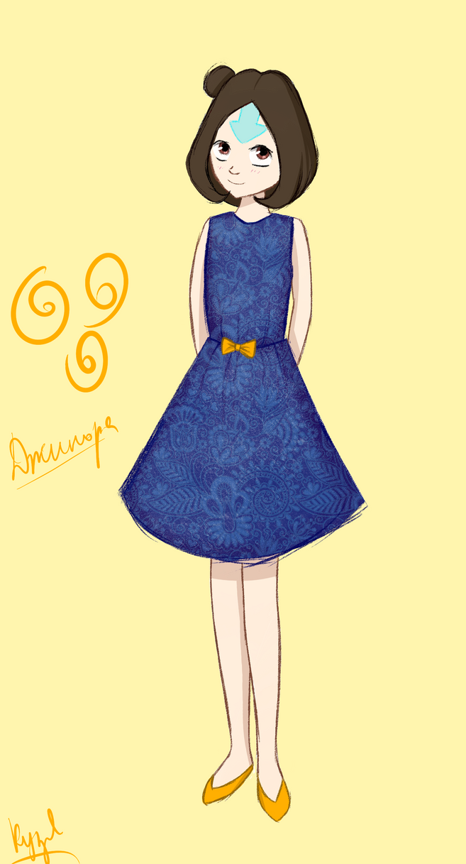 Jinora in dress ^_^