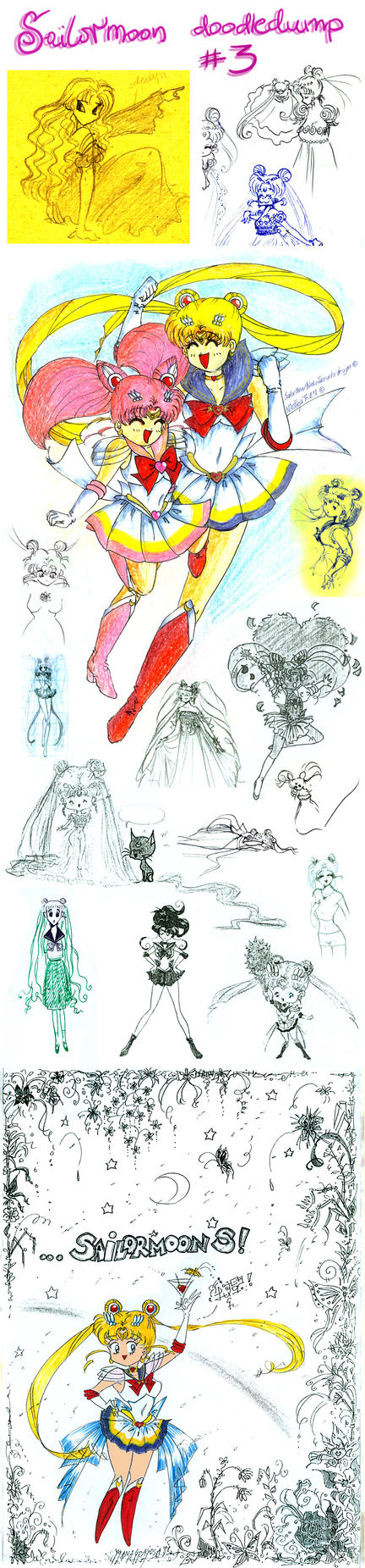 Sailormoon doodledump 3 by NitroFieja