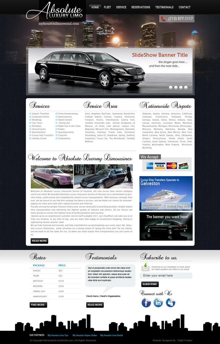 Limousine website template by View9 on DeviantArt Qztd2S23