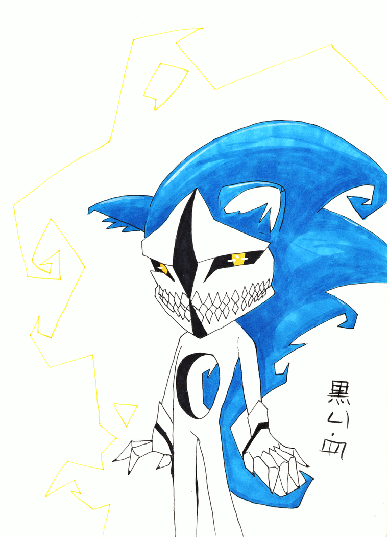 12 Days of Halloween Hollow Sonic by NekoSickle