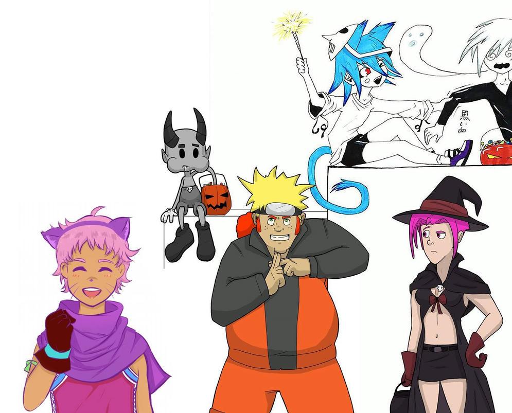 Halloween Collab Final by NekoSickle