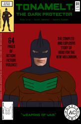 Here Comes TONAMELT The Dark Protector #1 DEMO cov