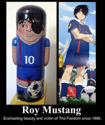 Roy Mustang - Da Fandom Victim by NazayeMikomi
