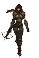 Demon Hunter Diablo 3 - Talia by Shikamaru-no-kage