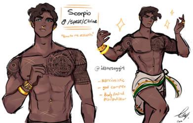 Scorpio: OC Reference Sheet