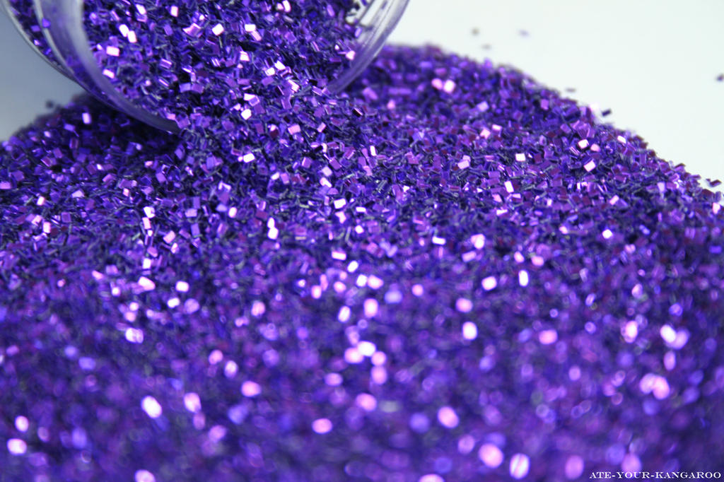 Purple Glitter by Ate-Your-Kangaroo