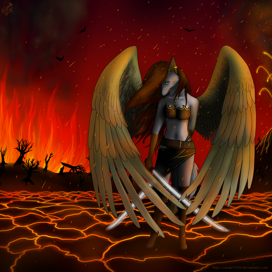 If I cannot reach Heaven, I'll raise Hell by Cicide76536