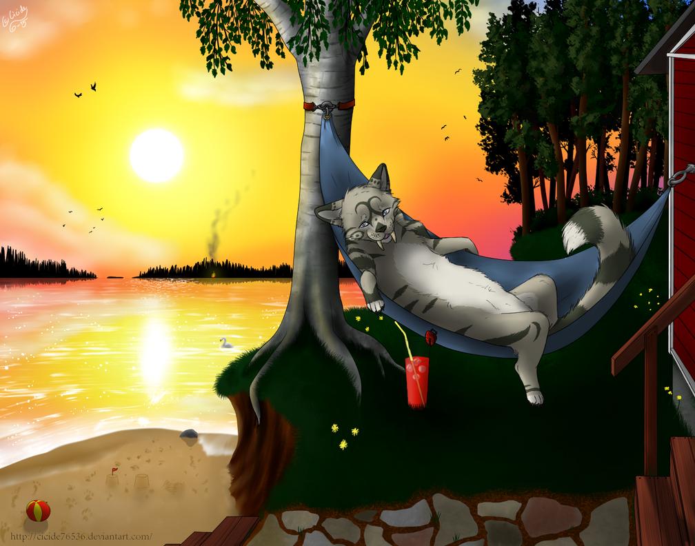 Laskemattoman auringon ilta - Salajussi 2015 by Cicide76536