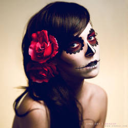 Beautiful Death by DinaDayMakeup