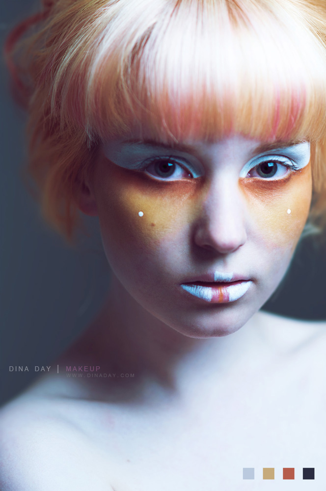 Through the Stars by DinaDayMakeup