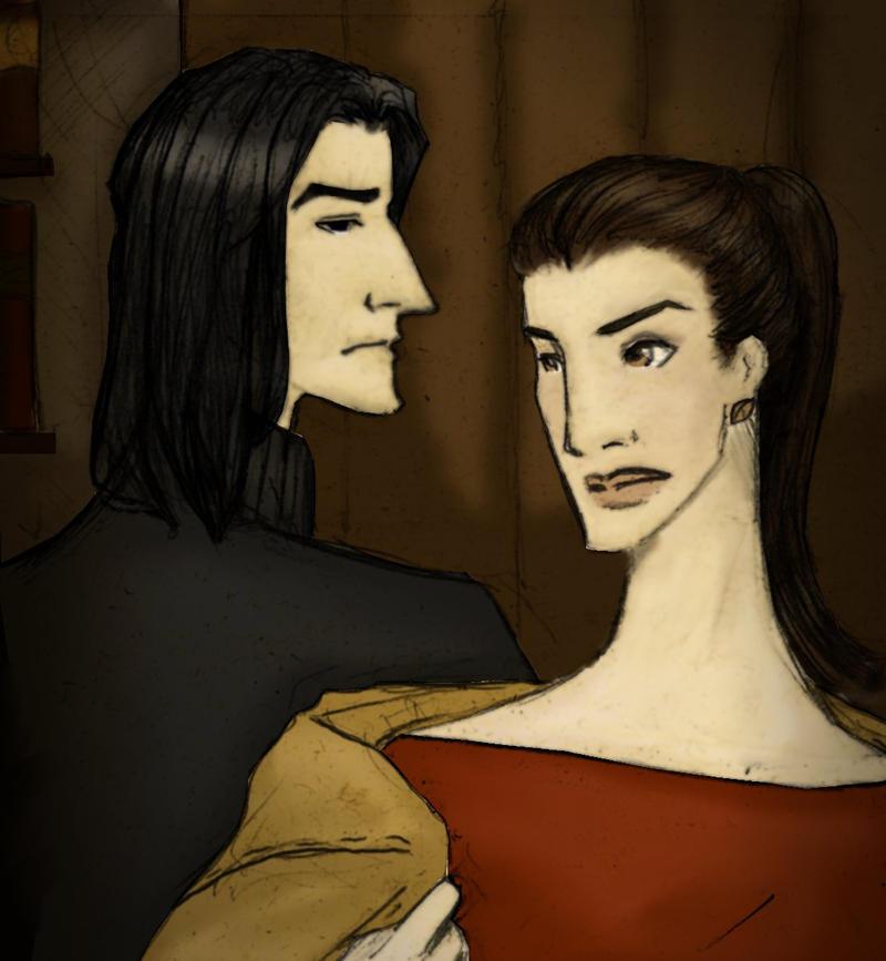 The Visit - Illustration 2 by JosieCarioca