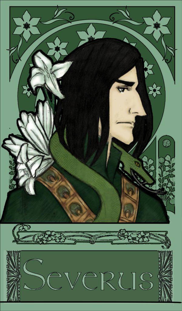 Severus Snape - The Snake by JosieCarioca