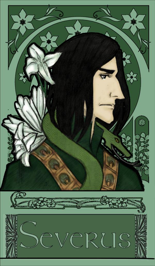 Severus Snape - The Snake by JosieCarioca