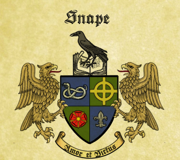 Snape Family Coat Of Arms By Josiecarioca On Deviantart