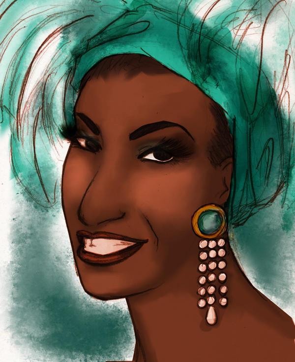 Celia Cruz by JosieCarioca