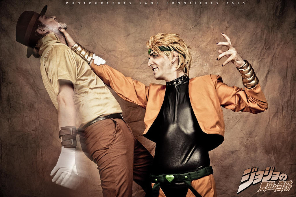DIO and Joseph 01 by drkitsune