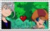 Stamps: Ryouma x Ren by Shichiro-chan