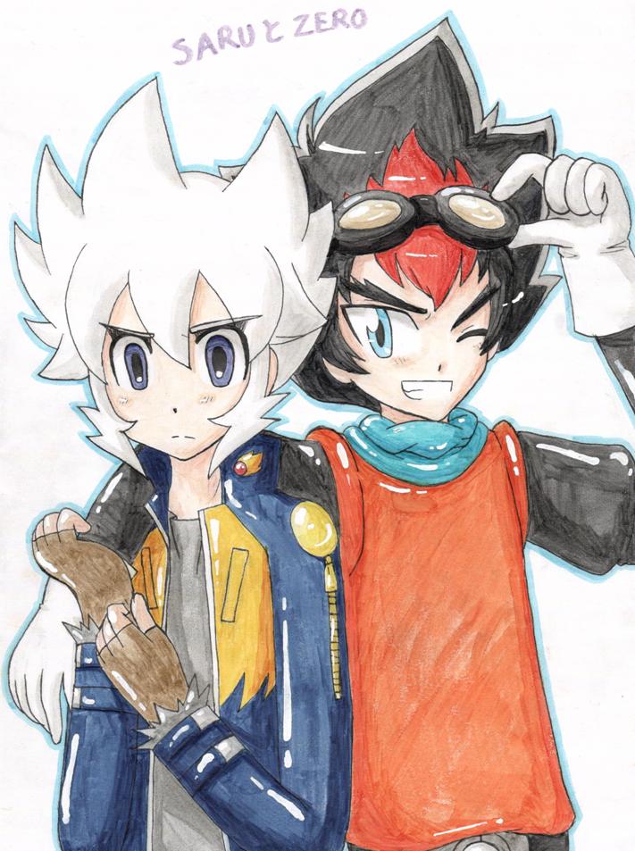 Crossover: SARU and ZERO by Shichiro-chan