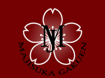 Majisuka Gakuen Logo  My Style by Hanazakari86