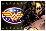 Wonder Woman XL Stamp by DCU-Club
