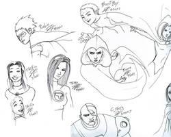 Teen Titans Ink: chougousenki