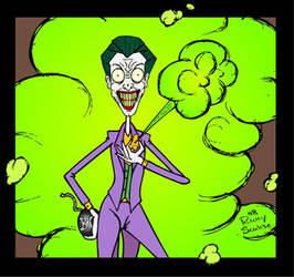 Joker says Smile