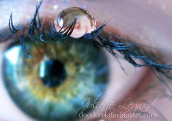 Pretty green eyes III by Doodoox