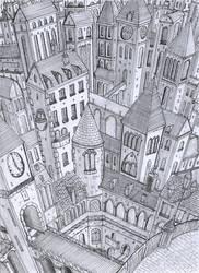 eternal city by lordoffog