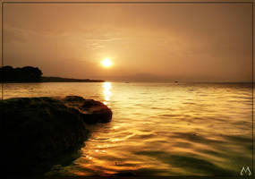 Rainy Sunset by lVlorf3us