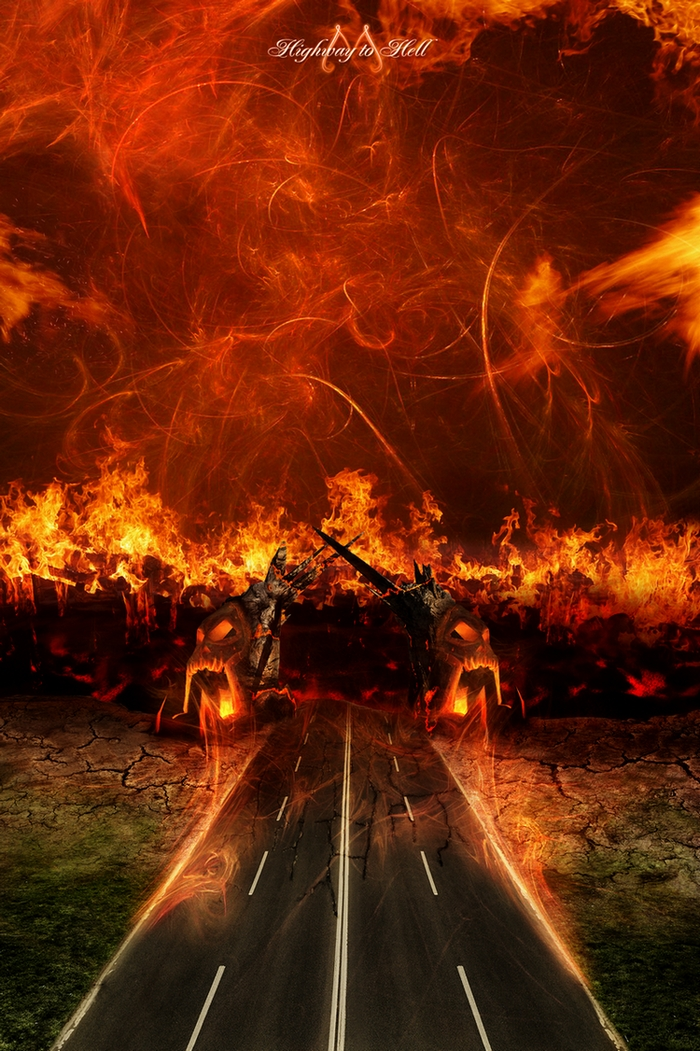 Highway to Hell by lVlorf3us on DeviantArt