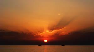 Ruddy Sunset