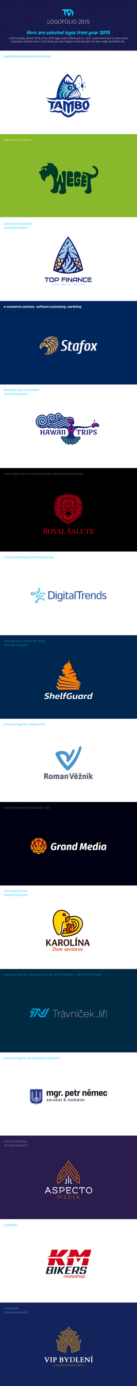 Logofolio 2015 by lVlorf3us