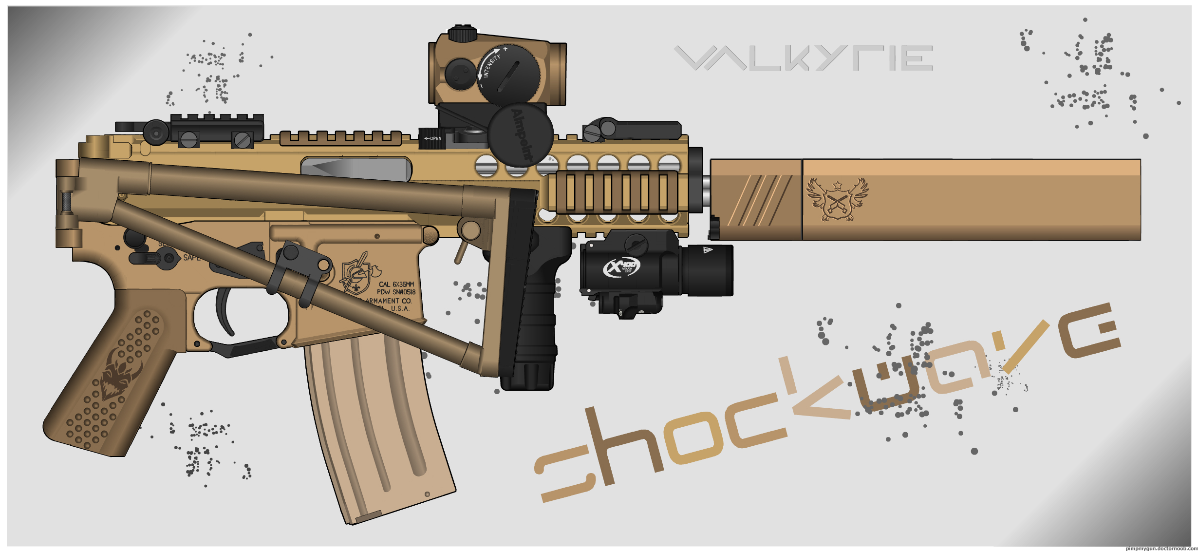 El_Mattia's KAC PDW by Shockwave9001