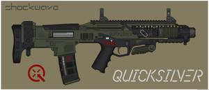Quicksilver Industries: 'Hellcat' PDW