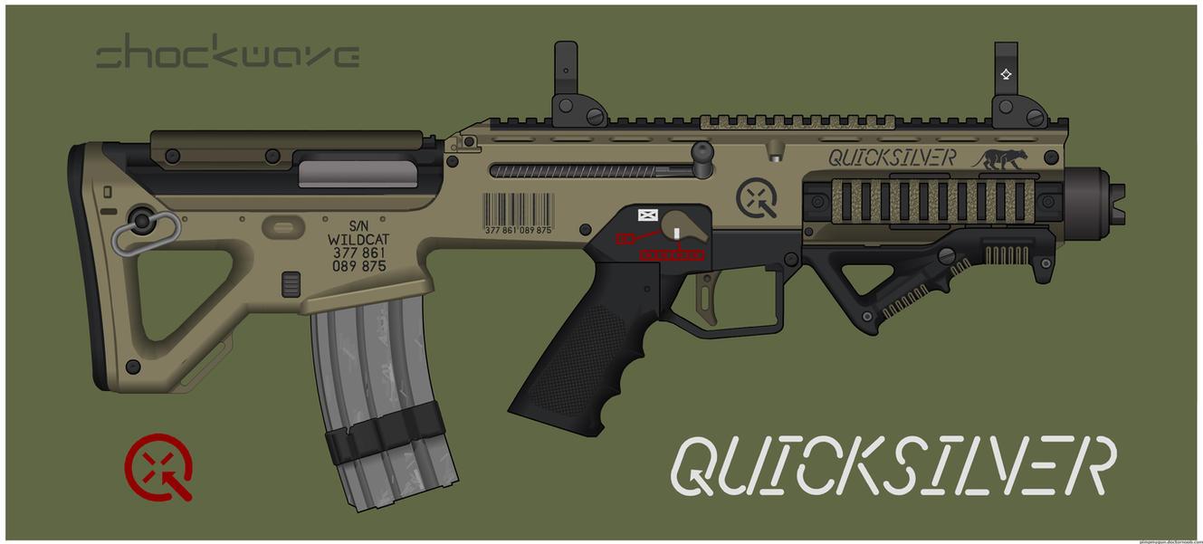Quicksilver Industries: 'Wildcat' PDW by Shockwave9001